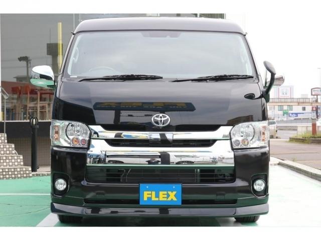 ブラックとメッキのバランス!フロントリップFLEXオリジナルデルフィーノリップスポイラー