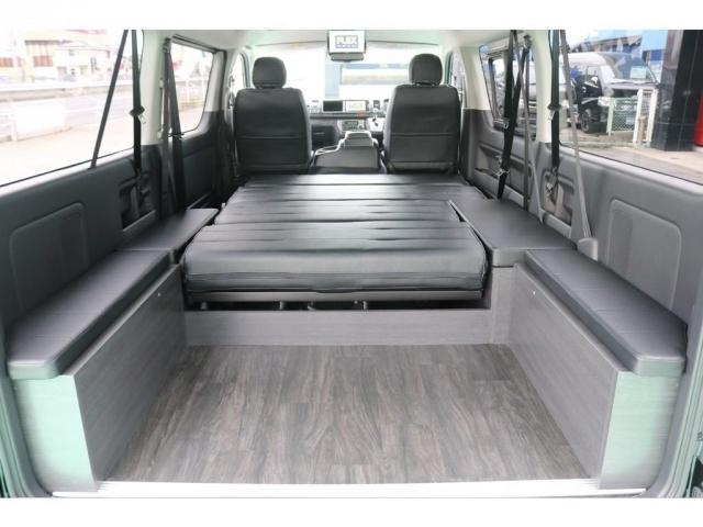 荷物+車中泊の方。この空間を見てから他の車と比べてみてください!!