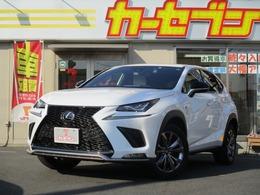 レクサス NX 300 Fスポーツ 買取車 ワンオーナー 純正ナビ 本革