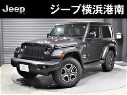 ジープ ラングラー スポーツ 4WD 新車保証付・3ドア・CarPlay対応