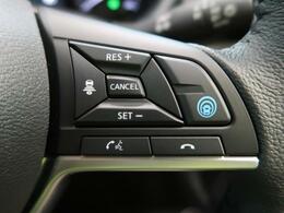 【プロパイロット】先行車への追従、ハンドル支援等、あなたの運転を最先端技術が支えます。