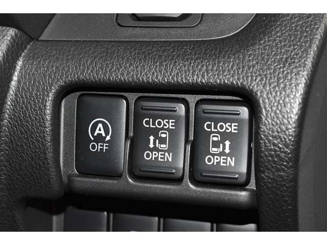 とっても便利な両側電動スライドドア☆★狭い場所でも大きく開放して乗り降りラクラク♪電動で運転席のスイッチやリモコンキーでカンタン開閉操作★☆