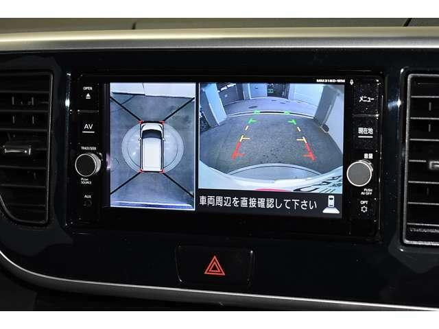 アラウンドモニターを装備!駐車の際、これがあれば運転に自信が無い方も安心です!一度使うと手放せない装備です!