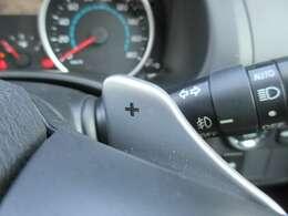 ■パドルシフト■ステアリングにあるパドルで、シフトチェンジが行えます!ミッション車の様な感覚で、ドライブが楽しめますよ♪