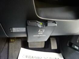 ETC車載器装備で、高速の乗り降りも楽々です。