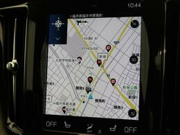 ◆9インチタッチコントロール対応純正ナビゲーション『Apple Car Playに対応。HDD方式を採用しすべての機能を集約したボルボの先進ナビゲーションです。御納車時には最新地図データへ無料更新!』
