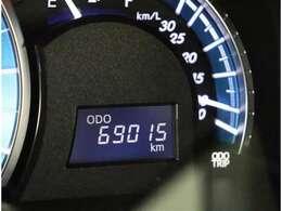 走行69015km