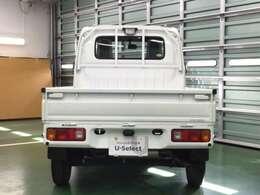 ボディーや荷台は錆に強い亜鉛メッキ鋼板を使用しています。