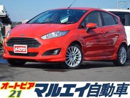 フォード フィエスタ 1.0 エコブースト ターボ・社外ナビ・Pスタート・純正AW