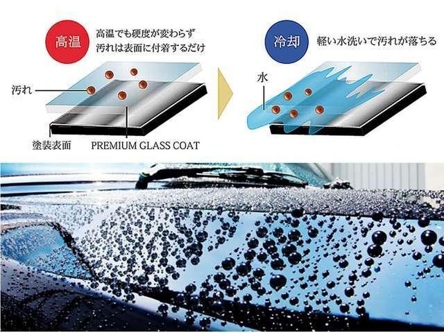 Aプラン画像:ボディガラスコーティング施工。お車のサイズに合わせた施工金額をご提示。