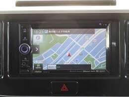 ディーラーオプションナビ クラリオンGCX513 2DINサイズ ワンセグTV・DVD・CD・microSD・Bluetooth・USB対応