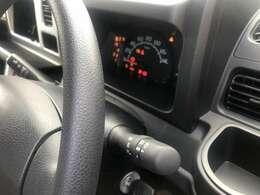 オートライトが標準装備になりました。AUTOの位置で待機中なので暗く成れば自動でスモール点灯します。