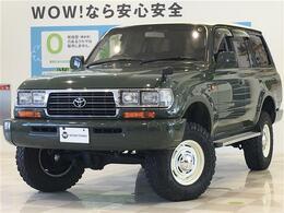 トヨタ ランドクルーザー80 4.5 VXリミテッド 4WD 社外ナビ フルセグ ETC 社外シートカバー