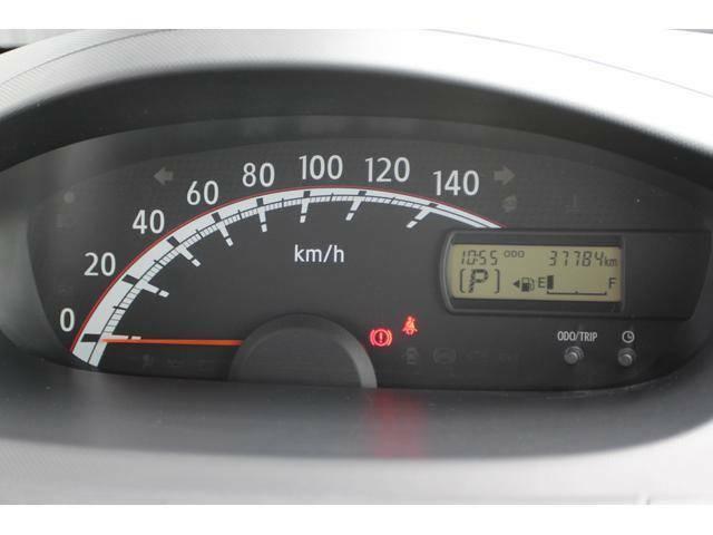 【メーター周り】シンプルで見やすいスピードメーター