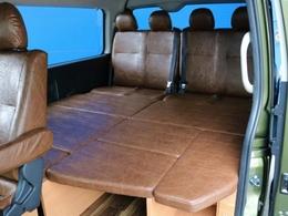 フルフラット対応可能☆★車中泊も可能!夢の膨らむ内装に仕上がっております♪