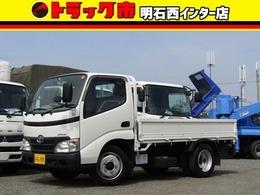 トヨタ ダイナ 平ボディー 積載量3t 10尺 全低床 AT 3方開