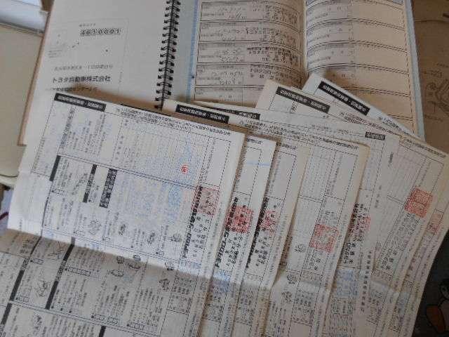 車検記録簿ディーラーにてしっかり整備してあります。