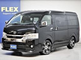 トヨタ ハイエース 2.7 GL ロング ミドルルーフ 4WD FLEX Ver5内装架装 ナビ ETC
