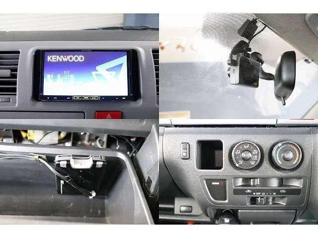 ケンウッドSDナビ 地デジ ETC ドライブレコーダー バックカメラ付きになります!