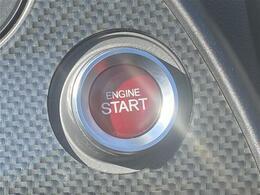 【プッシュエンジンスターター】エンジンスタートもプッシュ式のものになります!鍵を取り出す必要がないのが嬉しいですね♪
