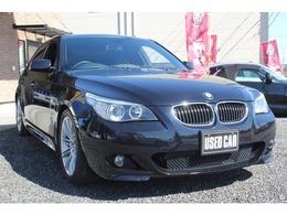 BMW 5シリーズ 525i Mスポーツパッケージ SR iDrive HDD クルコン HID 18AW HFレザー