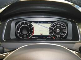 従来のアナログ型に代わる12.3インチ大型ディスプレイによる液晶式メーター「アクティブインフォディスプレイ」は、ナビゲーション画面も表示でき、安全ドライブに効果的です。