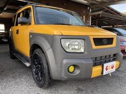 ホンダ エレメント 2.4 4WD フォグ・サイドステップ・ルーフキャリア