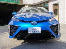 水素自動車MIRAIの入庫です。