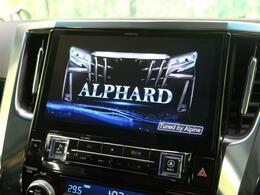 ☆車種専用アルパインBIGXナビ☆車種専用設計により、純正のようなフィット感♪専用の起動画面など満足感が高い仕様に☆今流行りの大画面ナビで快適なドライブをお楽しみください♪