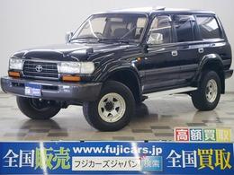 トヨタ ランドクルーザー80 4.2 VX ディーゼルターボ 4WD タイベル交換済 最終型202ブラック