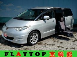 トヨタ エスティマ 2.4 アエラス サイドリフトアップシート装着車 両側電動ドア/ナビTV/Bカメラ/後席TV禁煙車