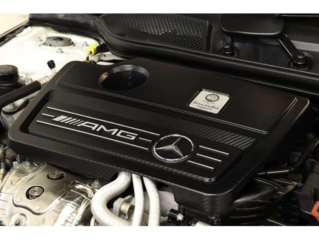 2,000cc 直4DOHCターボエンジンを装備!カタログ値360psを発生する心臓部とターボの過給が組み合わさり力強い走りを実現!AMGスピードシフトDCTによる加速も魅力的です!