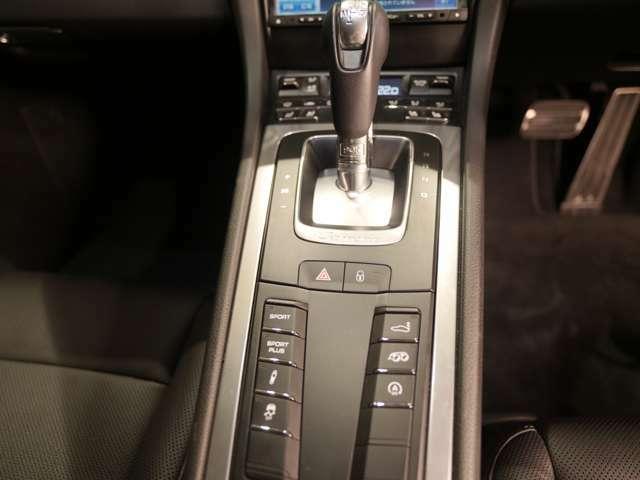 スポーツエグゾーストが装備されており、迫力のサウンドをボタン一つで選択できます。