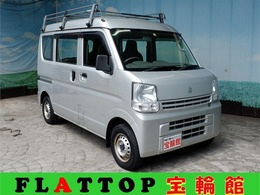 スズキ エブリイ 660 PA ハイルーフ 5AGS車 27年式/DA17V型/ナビ/TV/DVD/キャリア付き