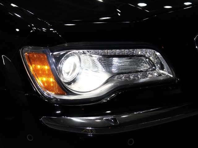 HIDヘッドライトになりますので、暗い夜道のライディングも安心です!