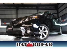 米国トヨタ シエナ 3.5 V6 LE SEルック SE純正AW 革シート 社外ナビ