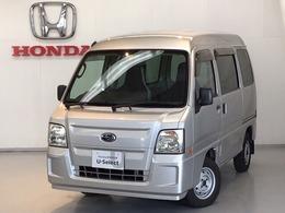 スバル サンバー 660 トランスポーター 4WD CD/パワーウインド/キーレス/スライドドア