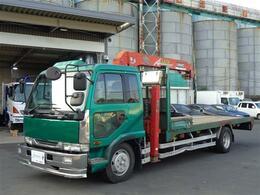 UDトラックス コンドル ハイジャッキ 3段ラジコンクレーン ユニック 増トン 積載4200kg