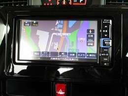 美麗なモニター画面で、行き先を設定すれば全国ピンポイントで案内してくれます。地デジTVやDVDの視聴、Bluetoothも使用出来ます♪♪♪
