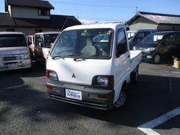 三菱 ミニキャブトラック 660 Vタイプ 三方開 エアコン付 Tベル交換済 検2年含