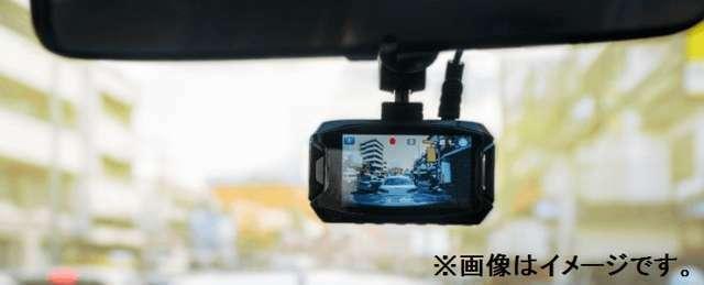 Aプラン画像:いざ!という時を逃さない!ドライブレコーダー(フロント)取付プランです!また、お客様のご予算に合わせて、リアカメラ付(前後2カメラ)のドラレコもご用意できますので、お近くの販売店スタッフまでお尋ね下さい♪