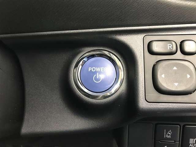 【スマートキー&プッシュスタート】カギをポケットやバッグに入れたままでエンジンの始動やドアロックの施錠・開錠ができます!雨の日や荷物が多い時に便利!プッシュ&タッチでらくらくです♪