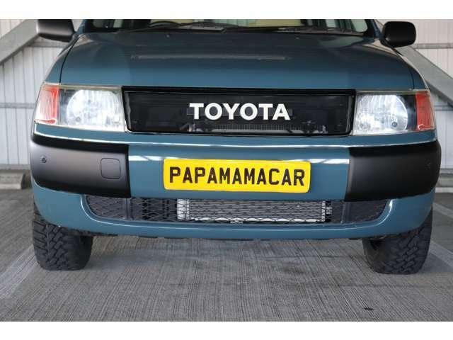 パパママカーズオリジナルカスタムプロボックス4WD。追加カスタム内容によっては納期を頂く場合がございます。その間の代車はご用意させて頂きます。お気軽にお問い合せ下さい。