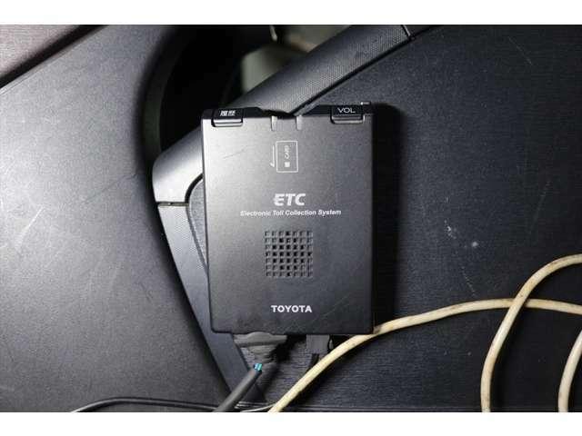 【 ETC 】高速道路の料金所をノンストップにて通過できます。昨今、増えてきているスマートICもご利用できます。