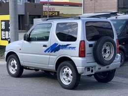 スズキ ジムニーXC 5Fです。車検4年1月まで,CD、ETCt付、イグニッションコイル交換済み、お買い得車です。