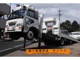 UDトラックス コンドル ハイジャッキ セフティローダー 積載6.7t スライドボディ 四国車体