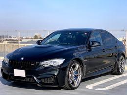 BMW M3セダン M DCT ドライブロジック レザーインテリア ヘッドアップディスプレ