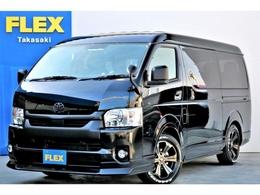 トヨタ ハイエース 2.7 GL ロング ミドルルーフ 4WD 新型車 FLEXマッドブラックPKG 10人乗り
