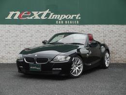 BMW Z4 ロードスター2.5i タイヤ新品 赤革シート 社外ナビ