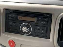 CD・ラジオチューナー装備でドライブが楽しめます。
